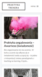 Mobile Preview of praktykatrenera.pl
